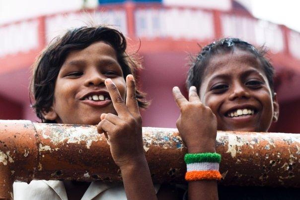 Indian Kids. Varanasi, India 2009